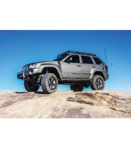 GOBI Jeep Grand Cherokee WK Roof Rack Stealth