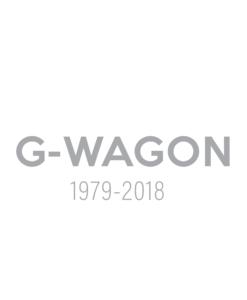 G-WAGON (1979-2018 |4DOOR)