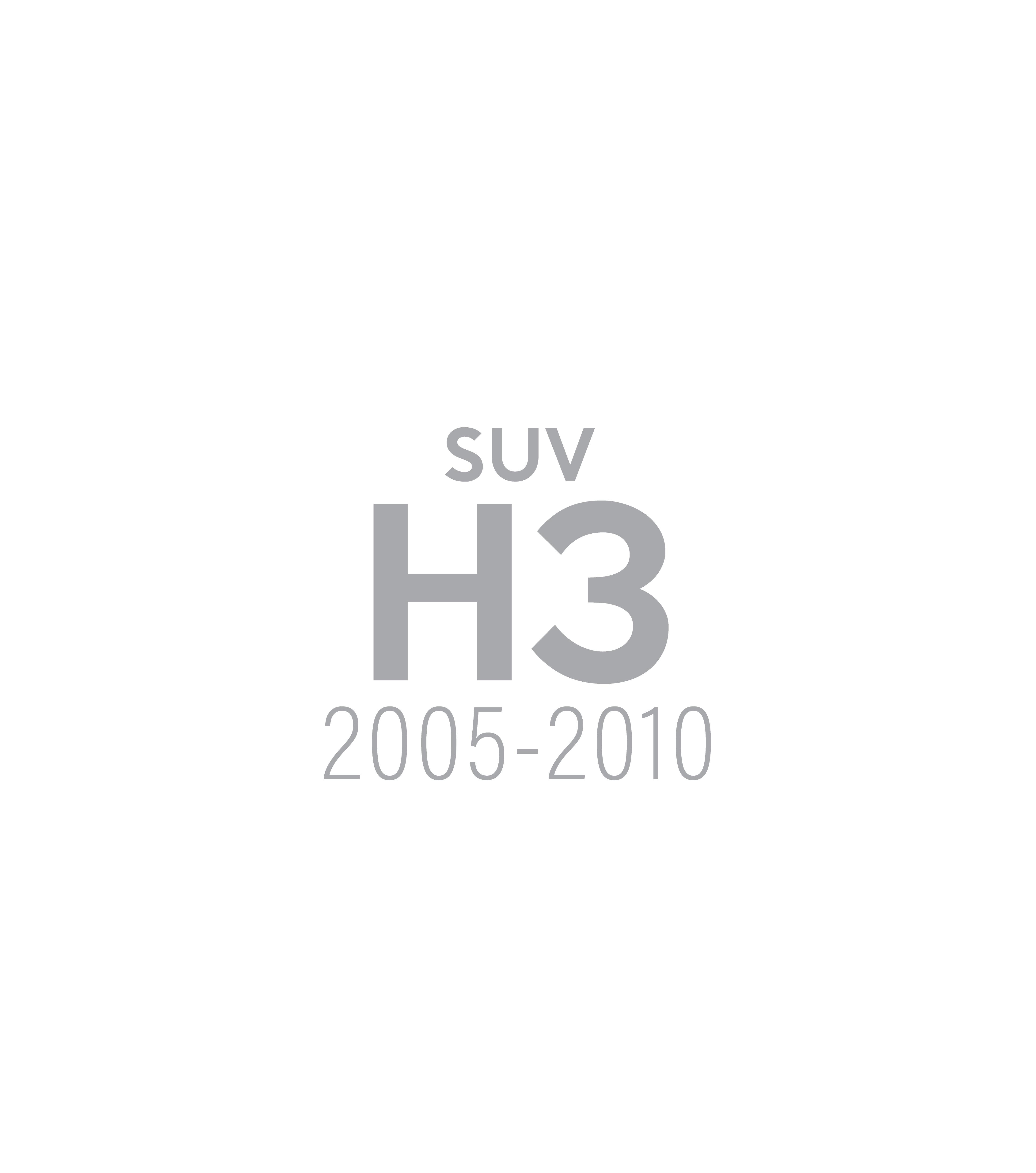 hummer H3 suv gobi gallery image
