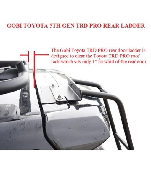 4Runner 5th gen TRD Pro Rear Ladder