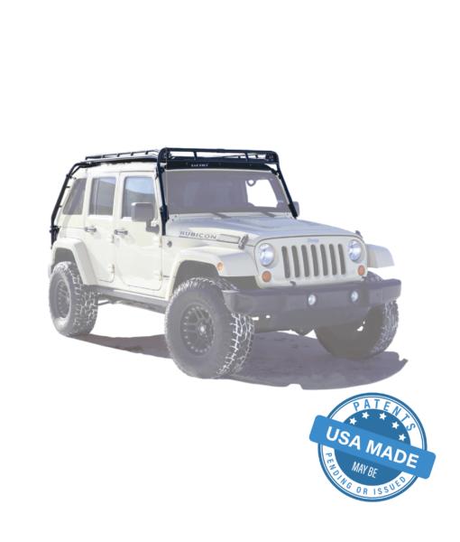 GOBI Jeep JKU-DV8 4Door Stealth Rack
