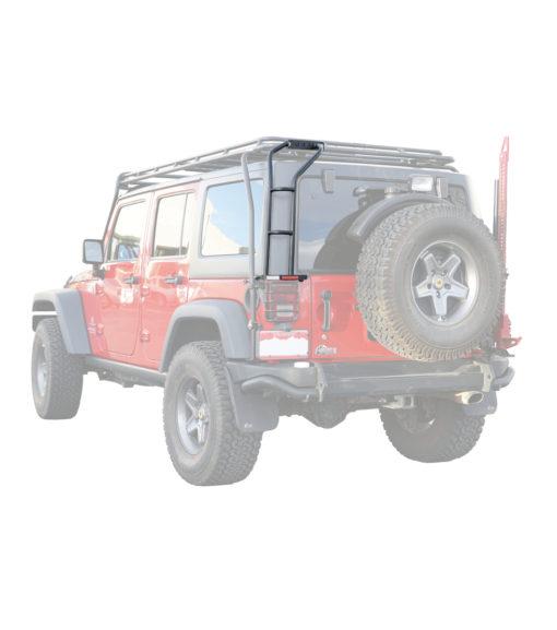 Jeep JK Rear Ladder Rhinorack Prinsu Thule Yakima ARB