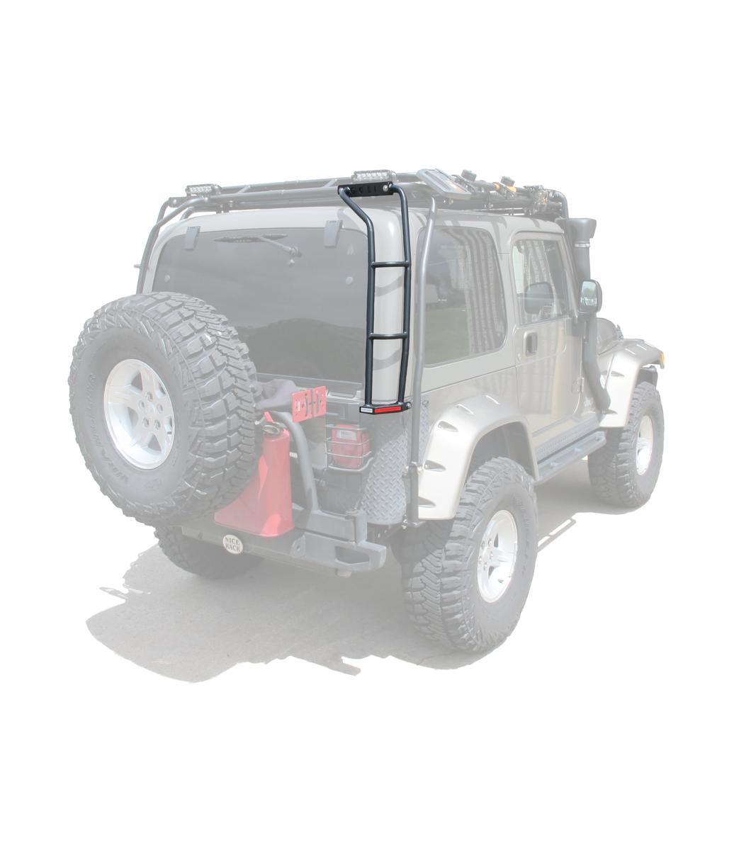 Jeep Wrangler Tj Rear Ladder Passenger Side Gobi