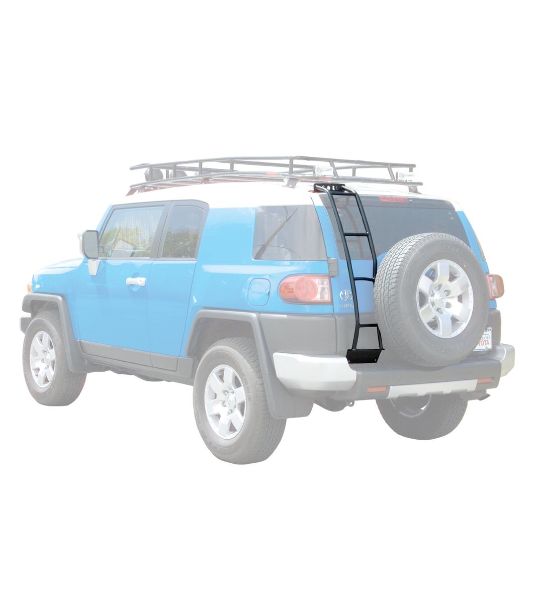 Gobi Toyota Fj Cruiser Rear Ladder With Spare Tire Driver Side