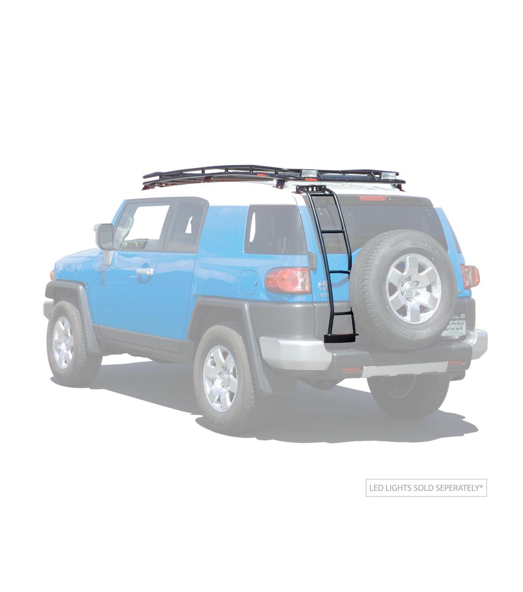 Gobi Toyota Fj Stealth Rack Multi Light Setup No Sunroof