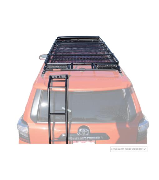 toyota 4runner roof racks overland offroad camping light-bar