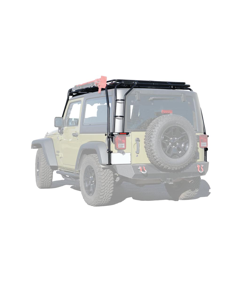 Jeep Jk 2door 183 Stealth Rack 183 Multi Light 50 Quot Led Setup