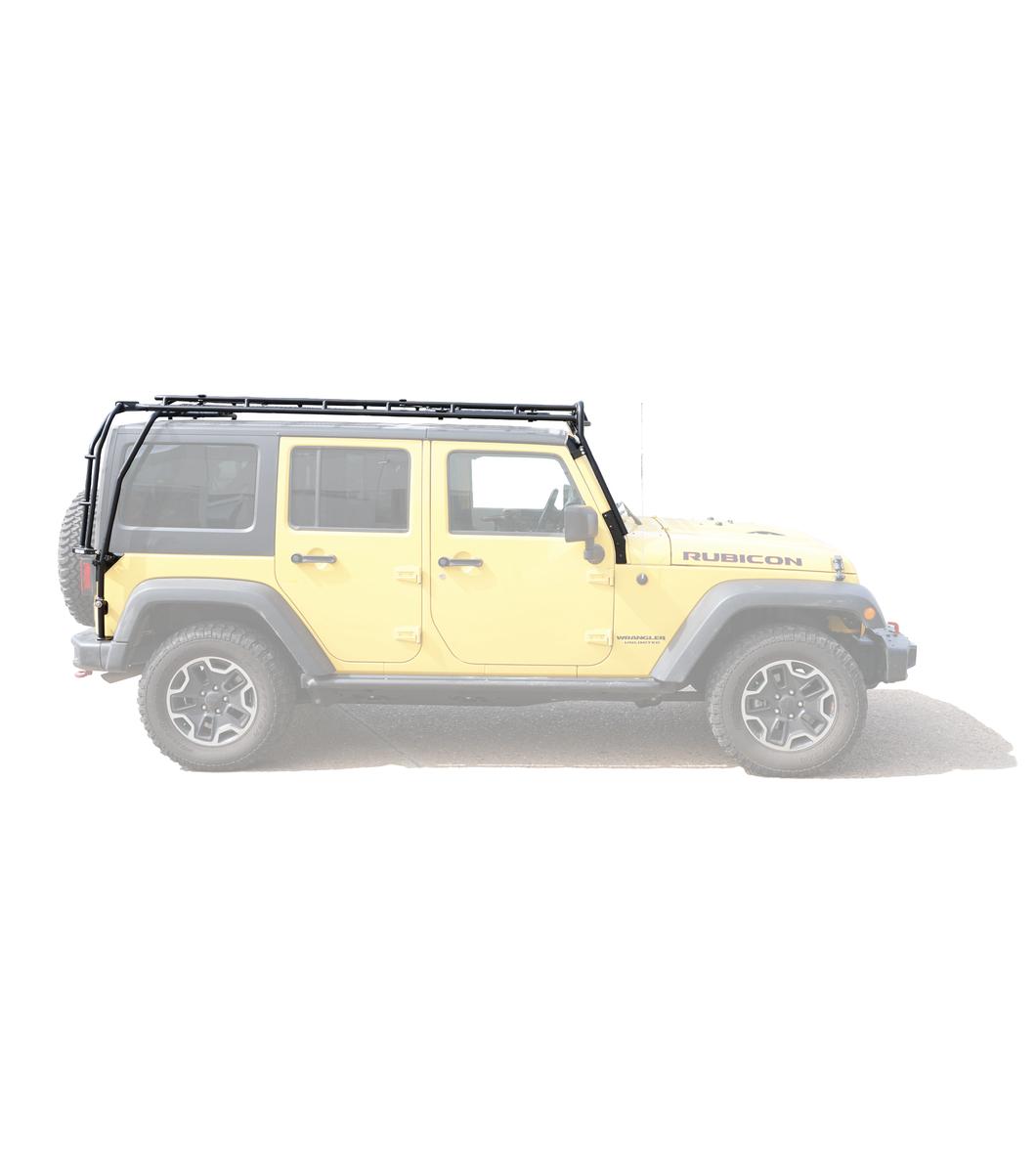 Jeep Jku 4door Stealth Rack 183 Multi Light 50 Quot Led Setup