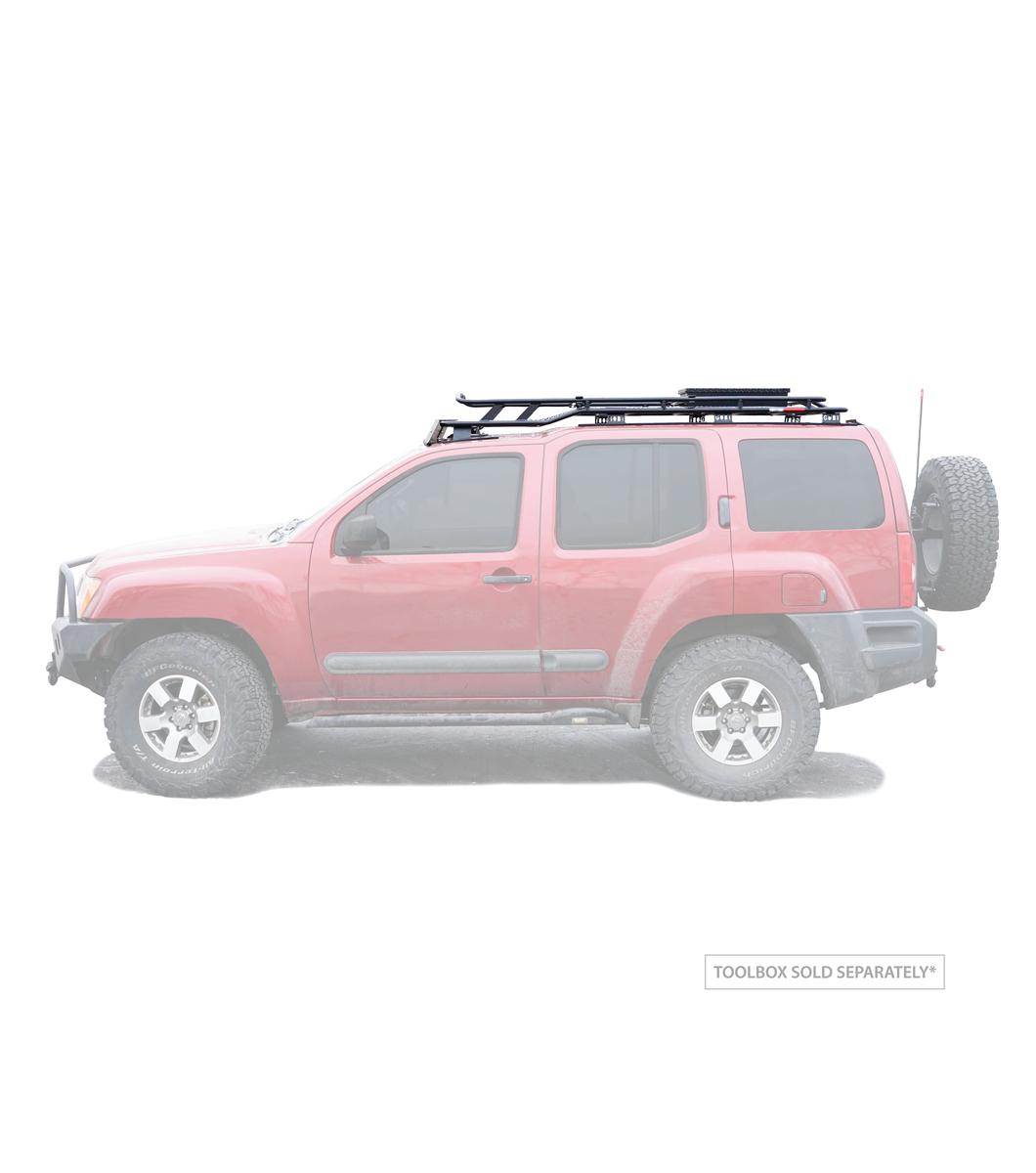 GOBI Nissan Xterra Stealth Rack 05 15 Lightbar Setup