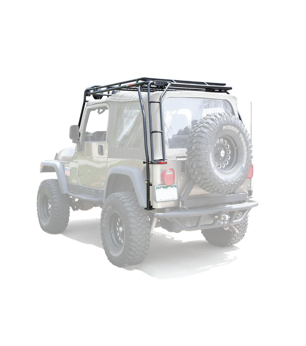 Jeep Tj 183 Ranger Rack 183 Multi Light Setup Gobi Racks