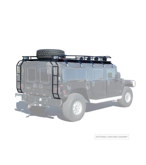 Hummer H1 Wagon Heavy-duty Cargo Rack Tire Carrier