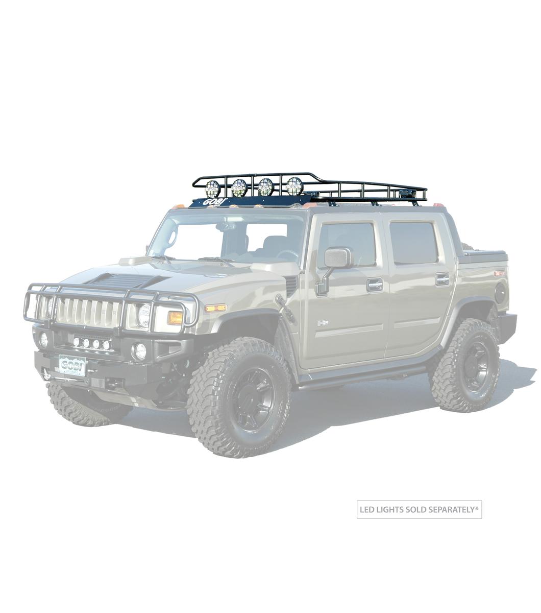 Gobi Hummer Sut Ranger Rack With Sunroof Multi Light Setup
