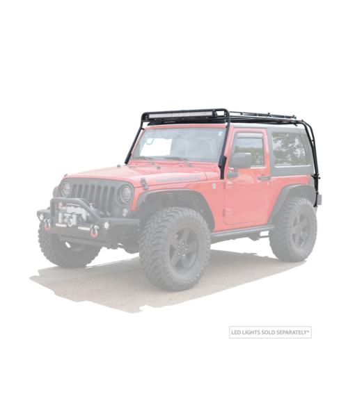 Heavy duty Low profile roof rack for Jeep JK