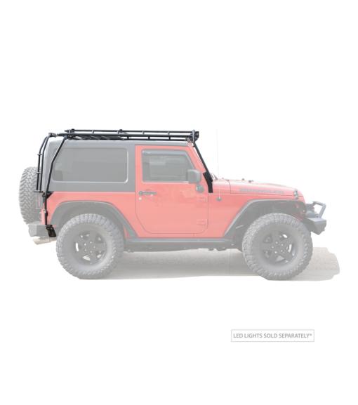Low Profile Jeep JK Overland Roof Racks