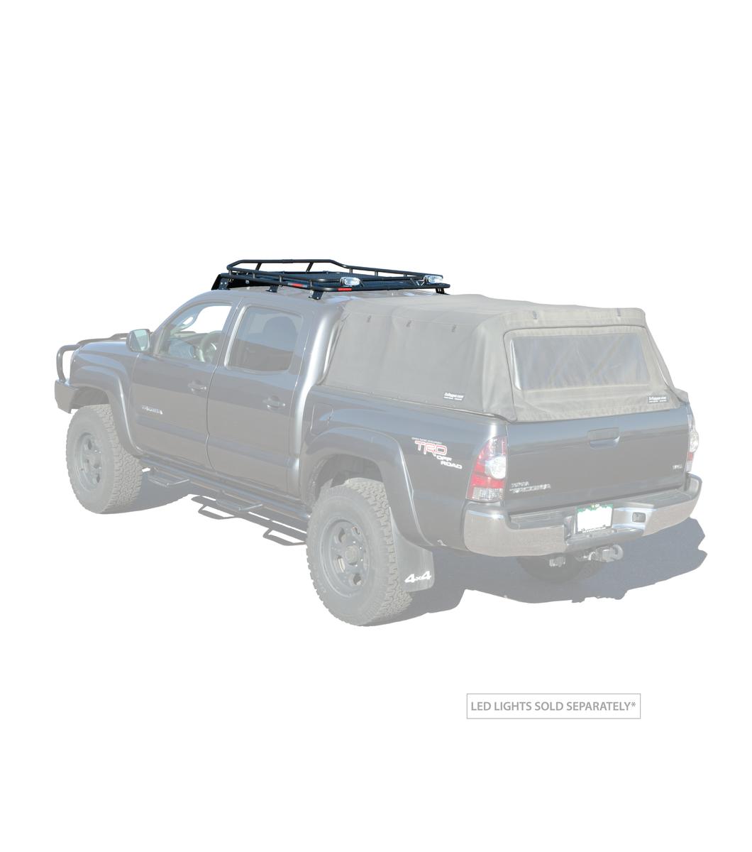 Toyota Tacoma Crew Cab: GOBI Toyota Tacoma Stealth Rack Multi-Light Setup