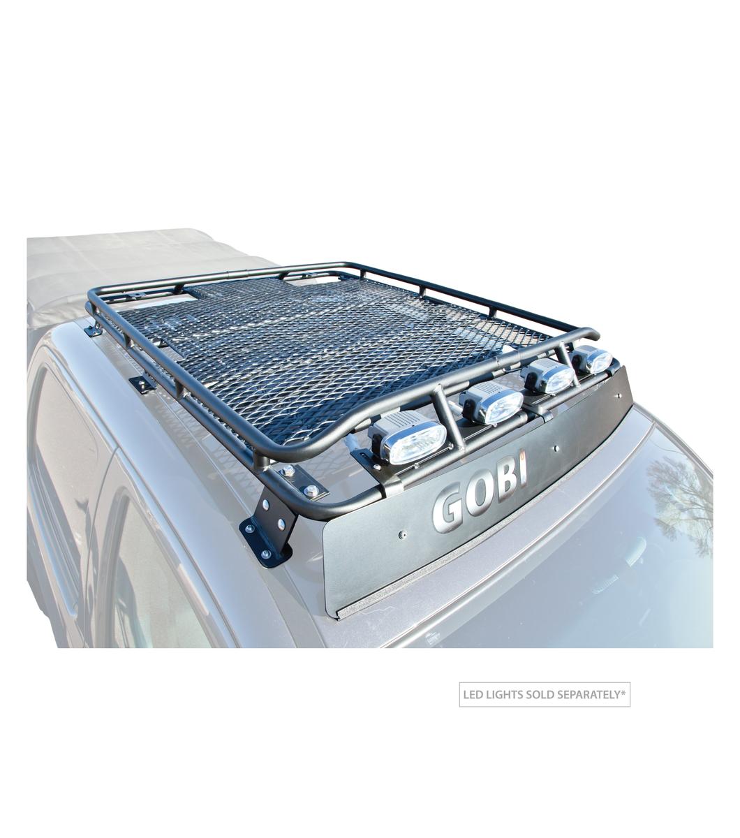Gobi Toyota Tacoma Stealth Rack Multi Light Setup