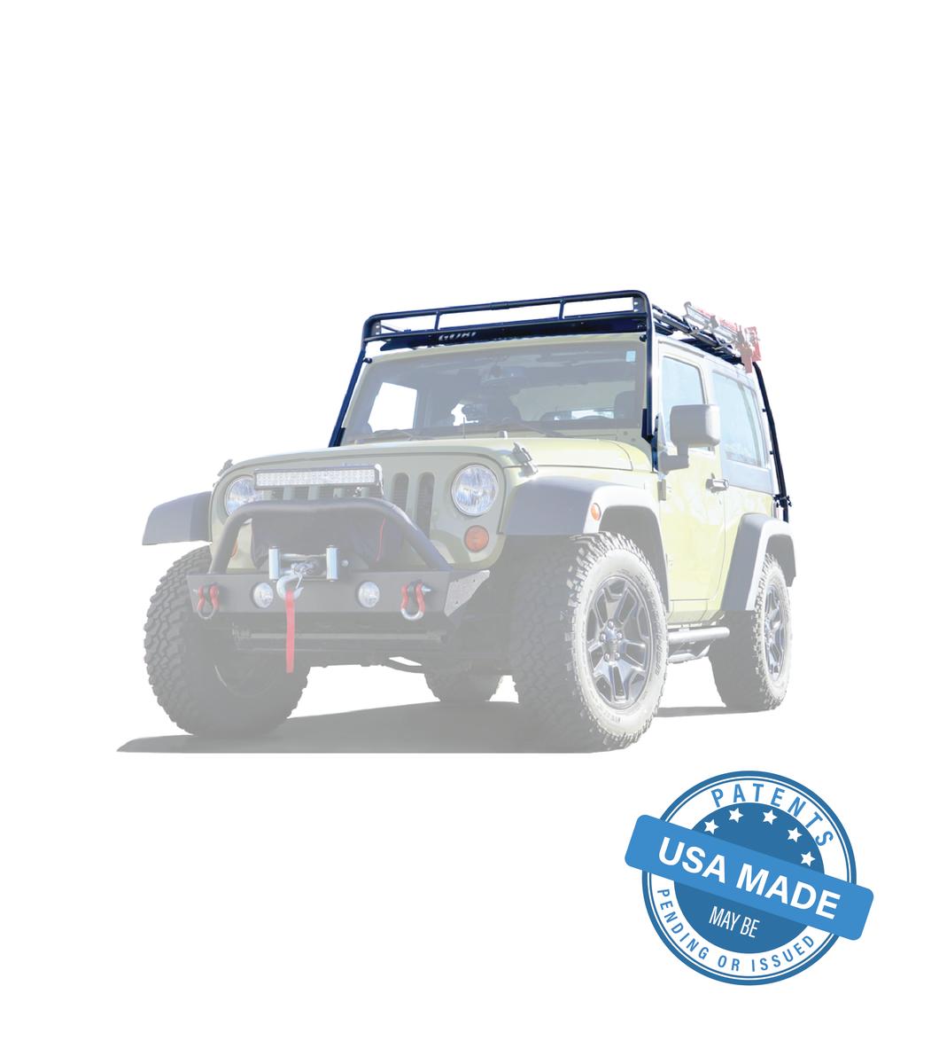 GOBI Jeep JK 2Door Stealth Rack Multi-Light & 50″ LED Setup