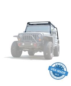 """GOBI Jeep JK 2Door Stealth Rack 40"""" LED Setup"""
