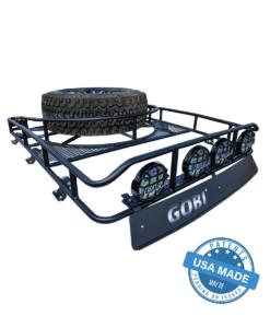 GOBI Ford F150 Ranger Tire Carrier Rack With Sunroof