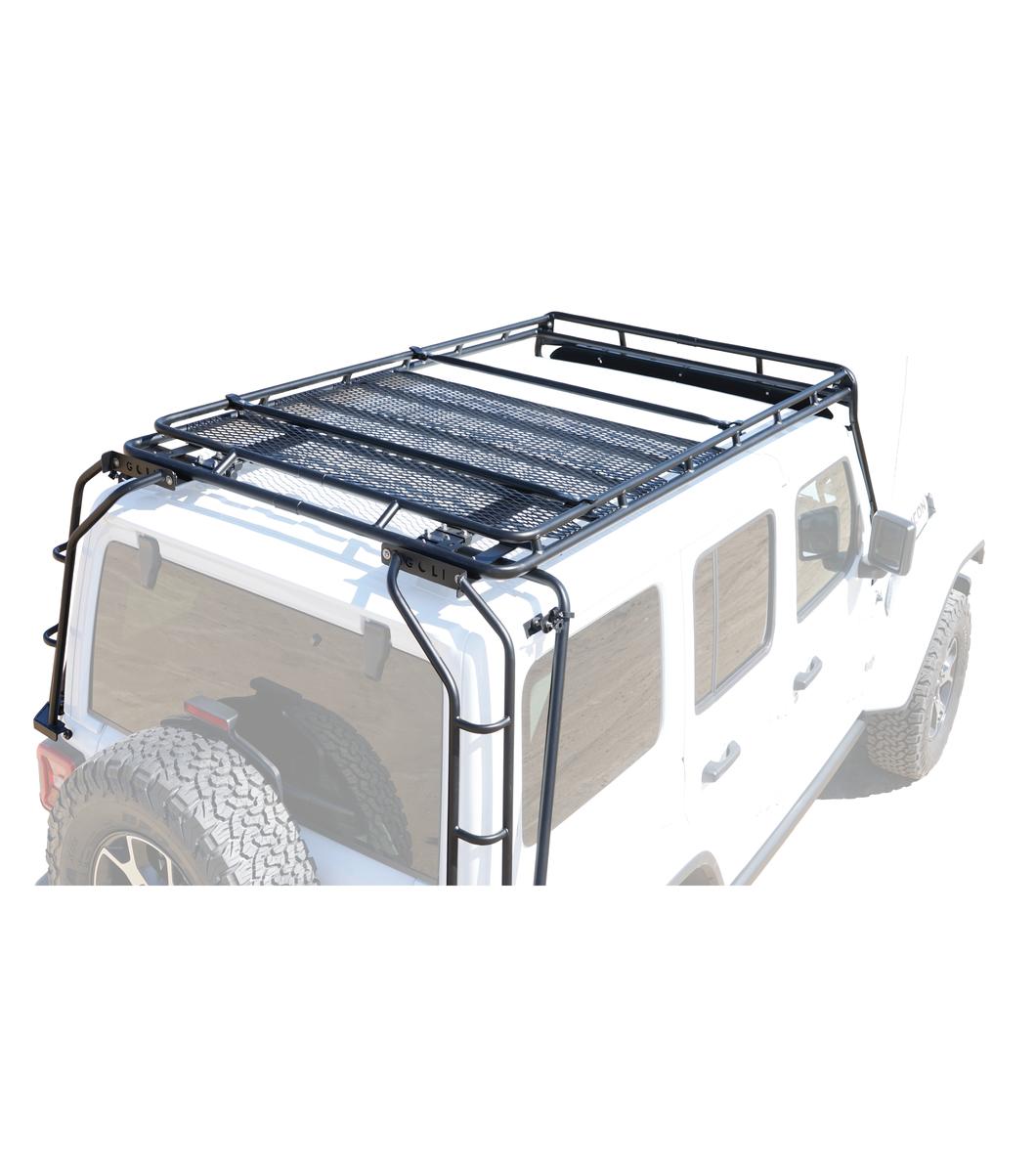 Gobi Jeep Rubicon Jl 4door Stealth Rack 40 Quot Led Setup
