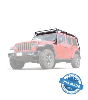 Jeep JLU 4-Door Sky One Touch Roof Rack