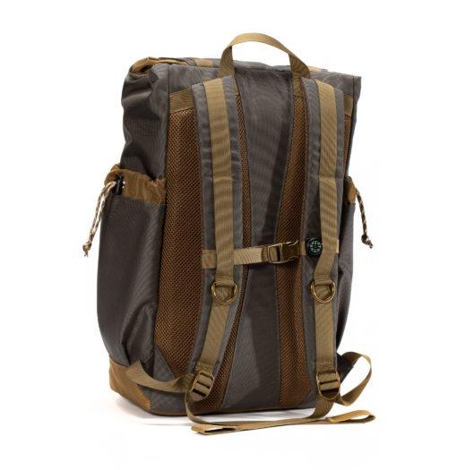 GOBI Get-away Backpack Graphite Gray and Tan