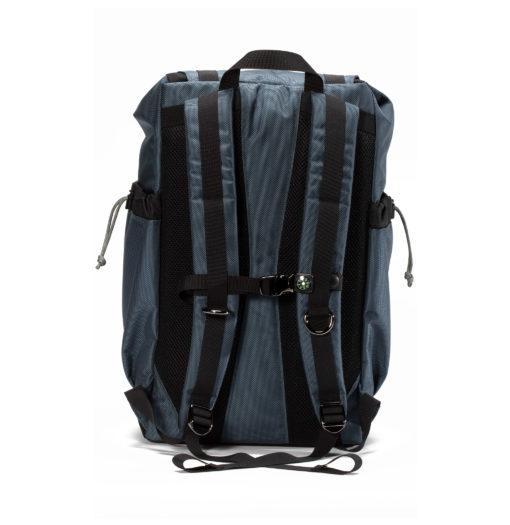 GOBI Gun Metal Blue Getaway Backpack