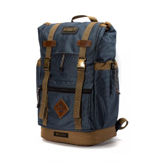 GOBI Gun Metal Blue Getaway Backpacks