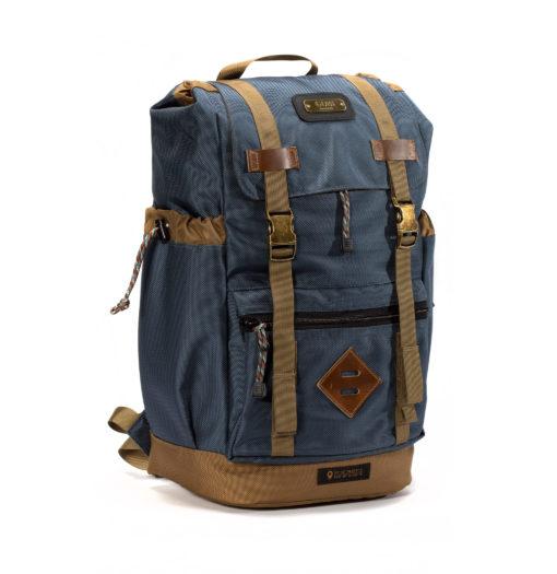 Gun Metal Blue Getaway Backpacks 2020 series
