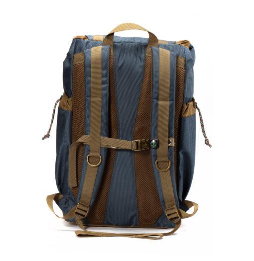 GOBI Getaway backpack Gun Metal Blue