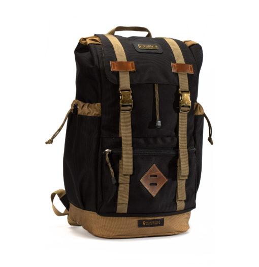 GOBI Get-away Backpack Jet Black