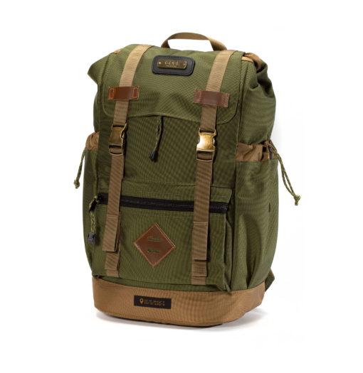 GOBI Get-away BackpackOD Green and Tan