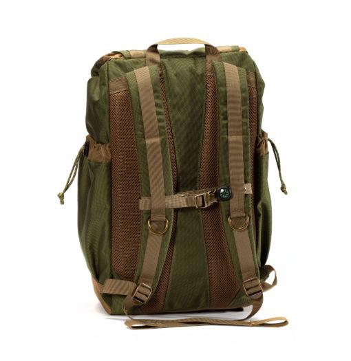 GOBI Get-away Backpack Green and Tan