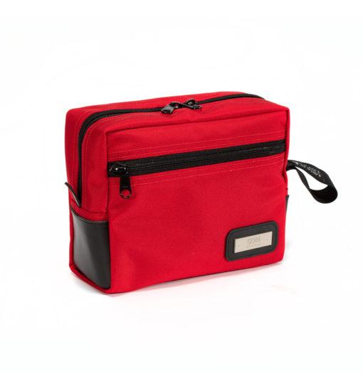 Red Travel Dopp Kit