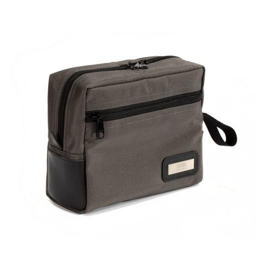 New Toiletries Bag Grey/Gray