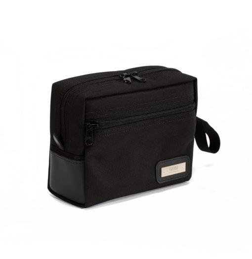 Black on Black Dopp Kit