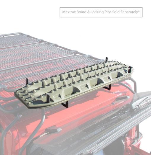 Rear Mount Recovery Board Brackets Jeep Wrangler